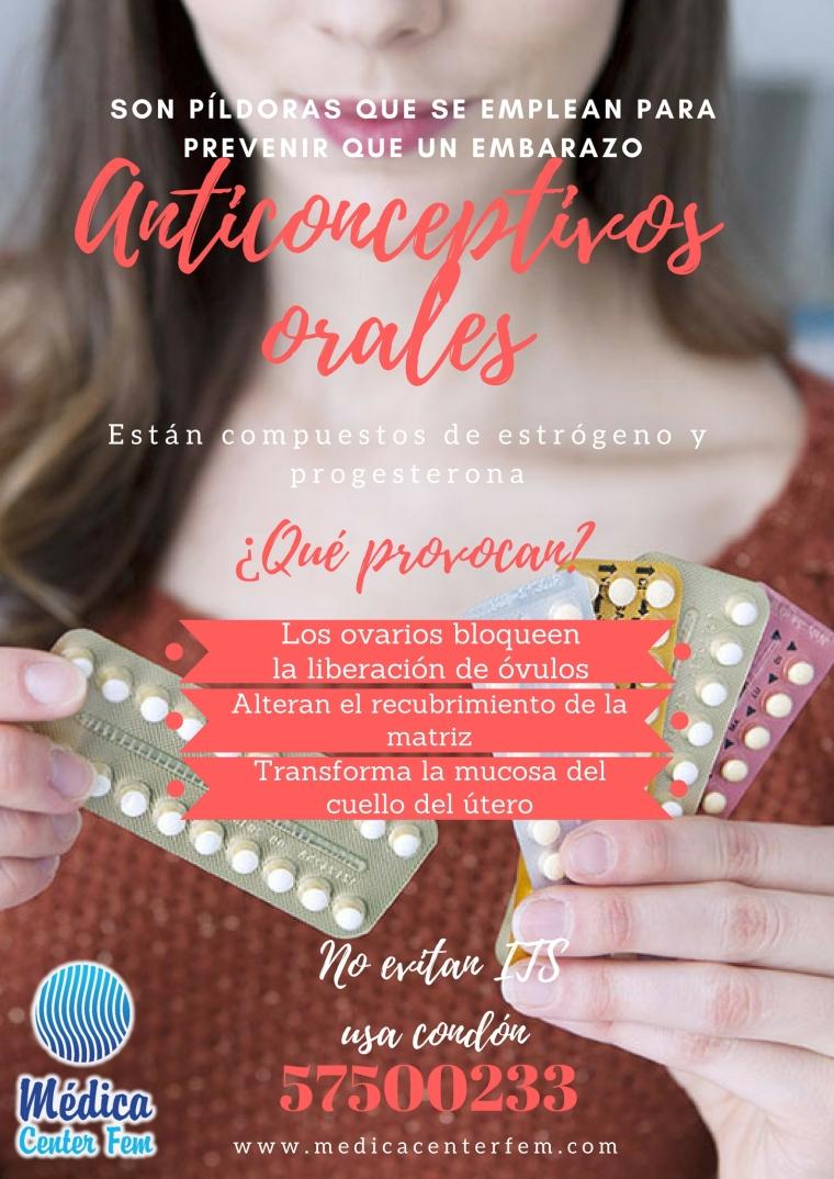 metodos Anticonceptivos orales