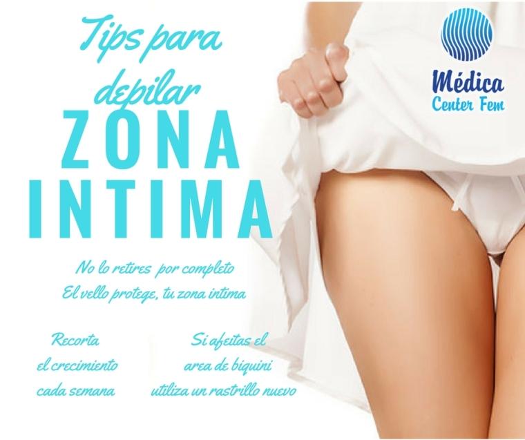 depilación zona intima