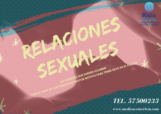 relaciones sexuales accidentes que pueden ocurrir