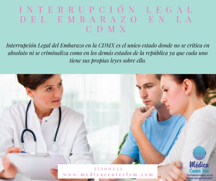 Interrupción legal del embarazo en la CDMX