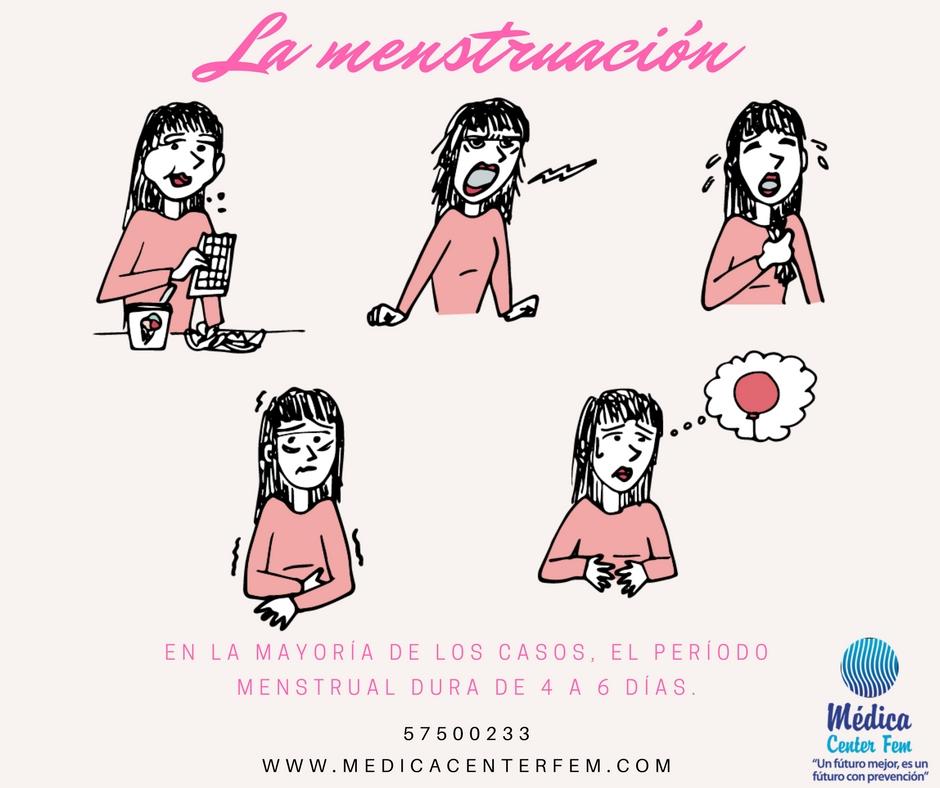 Preguntas sobre la menstruación