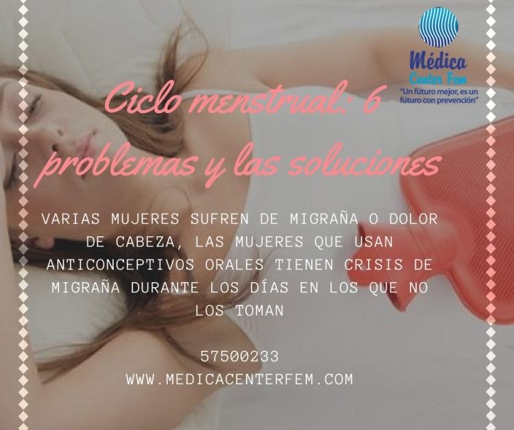 Ciclo menstrual_ 6 problemas y las soluciones