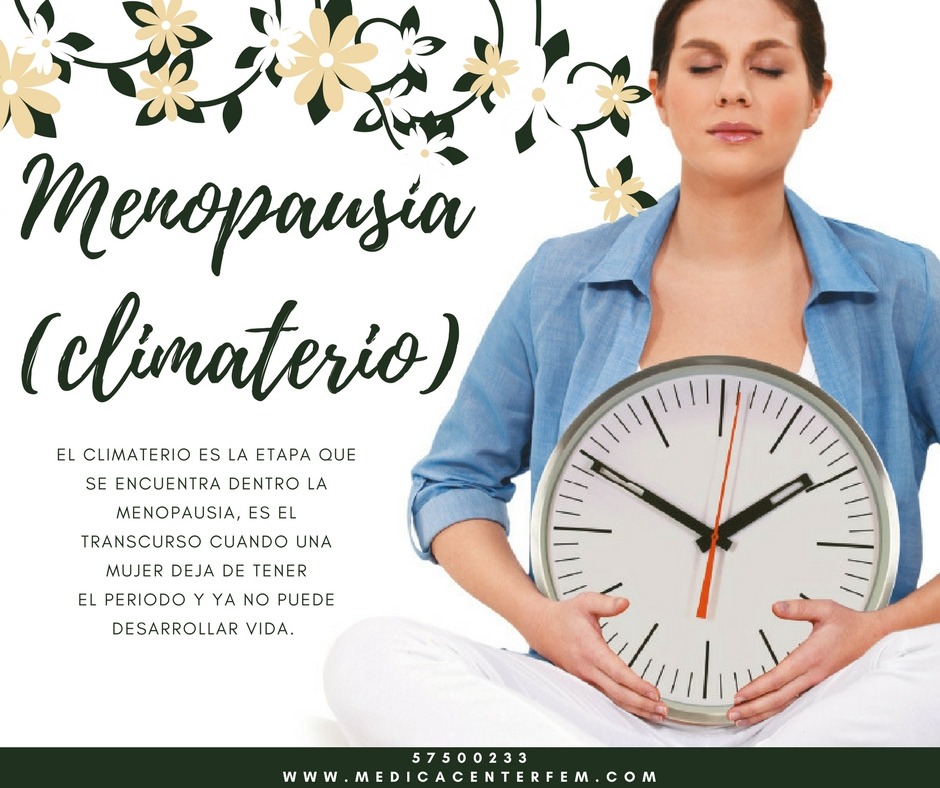 Menopausia (climaterio)