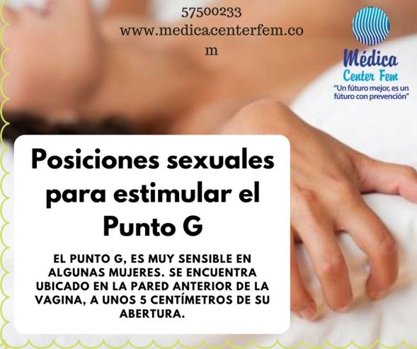 Posiciones sexuales para estimular el Punto G