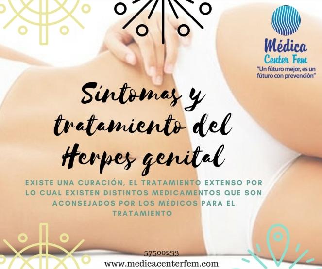Síntomas y tratamiento del Herpes genital