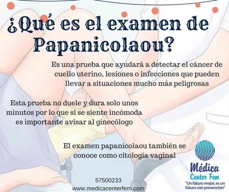 ¿Qué es el examen de Papanicolaou?