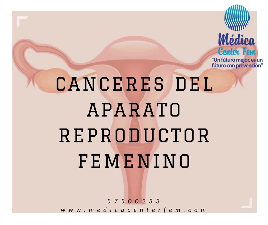 canceres del aparato reproductor femenino