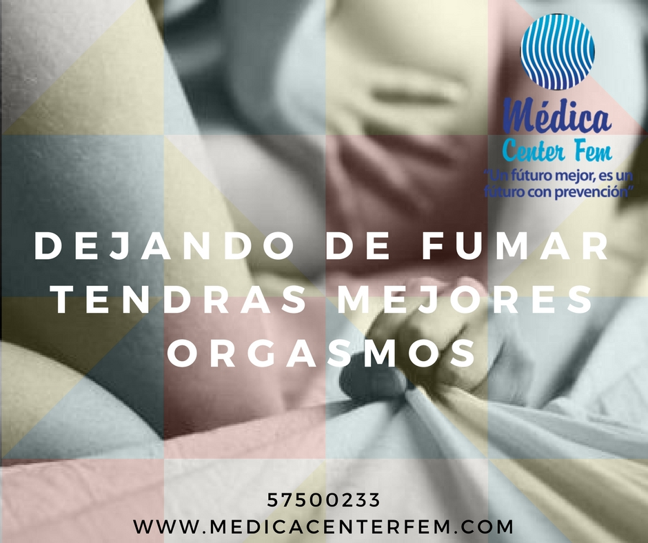 DEJANDO DE FUMAR TENDRAS MEJORES ORGASMOS