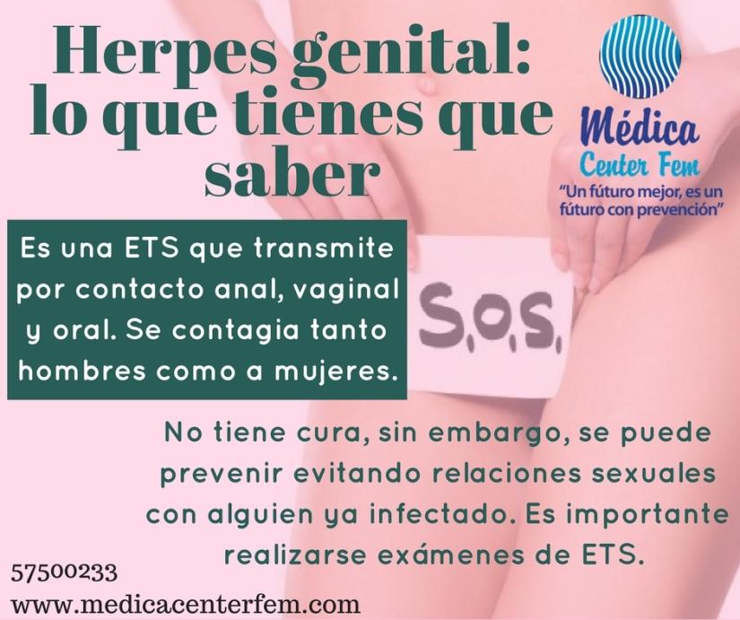 Herpes genital_ lo que tienes que saber