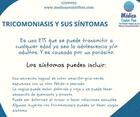tricomoniasis y sus sintomas