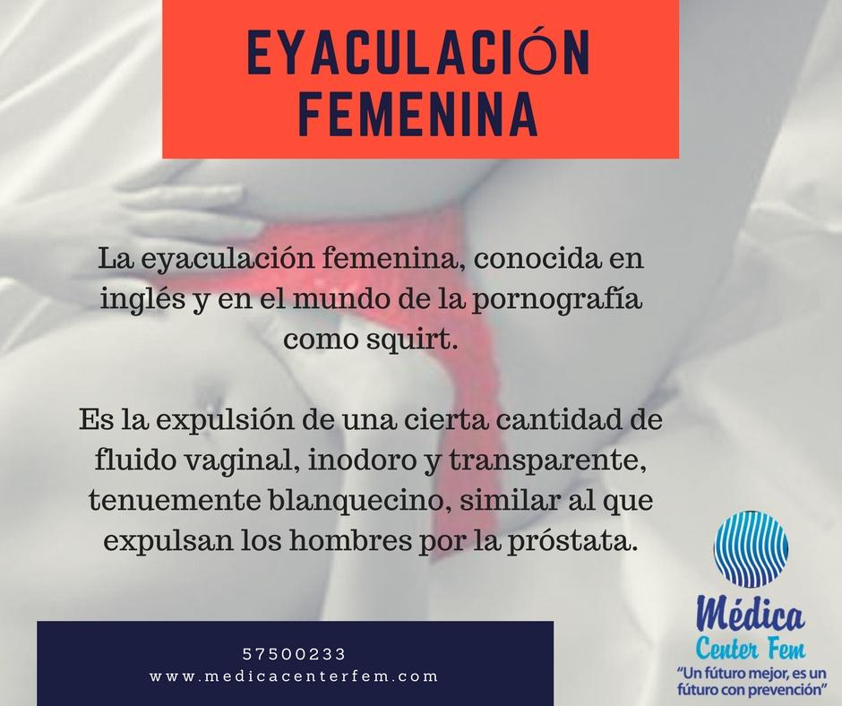 Eyaculacion femenina