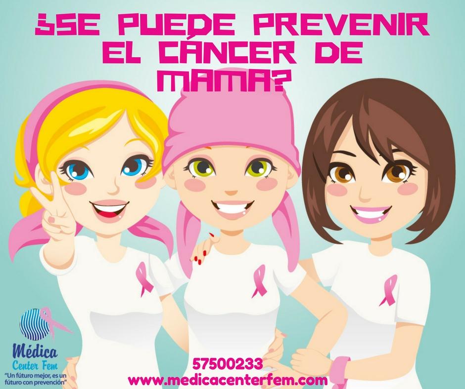 ¿Se puede prevenir el cáncer de mama?
