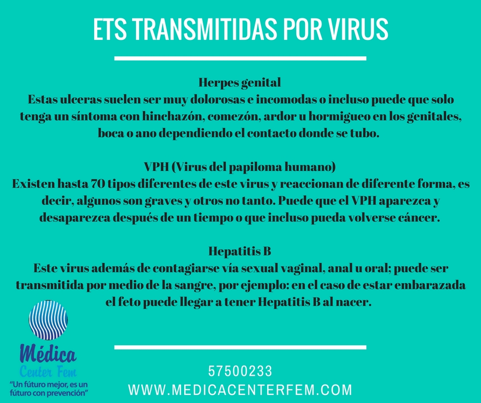 ets transmitidas por virus