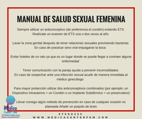 manual de salud sexual femenina