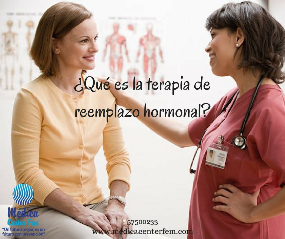 ¿Qué es la terapia de reemplazo hormonal?