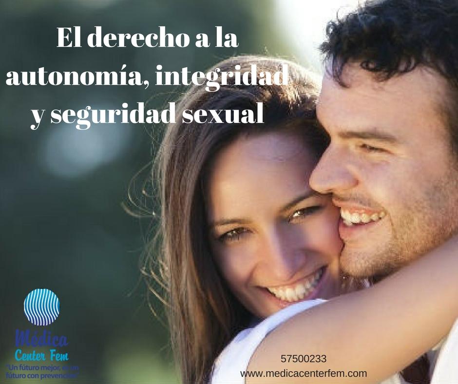 El derecho a la autonomía, integridad y seguridad sexual