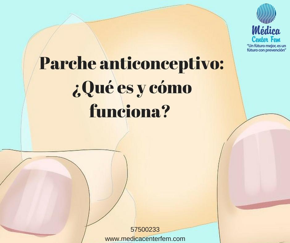 Parche anticonceptivo