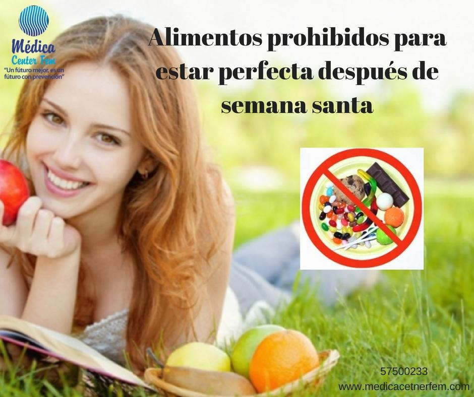 Alimentos prohibidos en semana santa