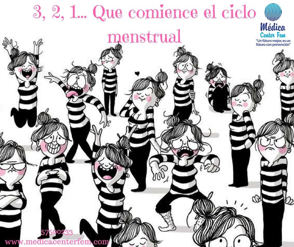 3,2,1...Quecomienceel ciclo menstrual