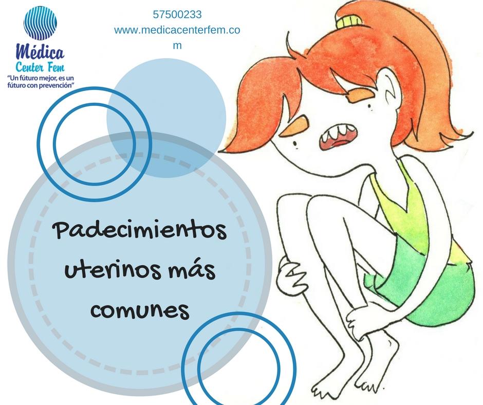 padecimientos uterinos