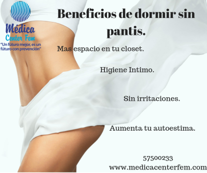 Beneficios de dormir sin panties (1)