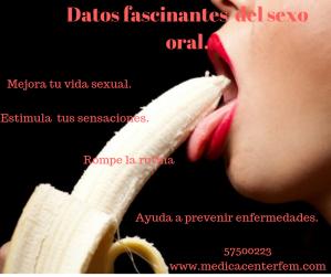 Datos fascinantes del sexo oral.