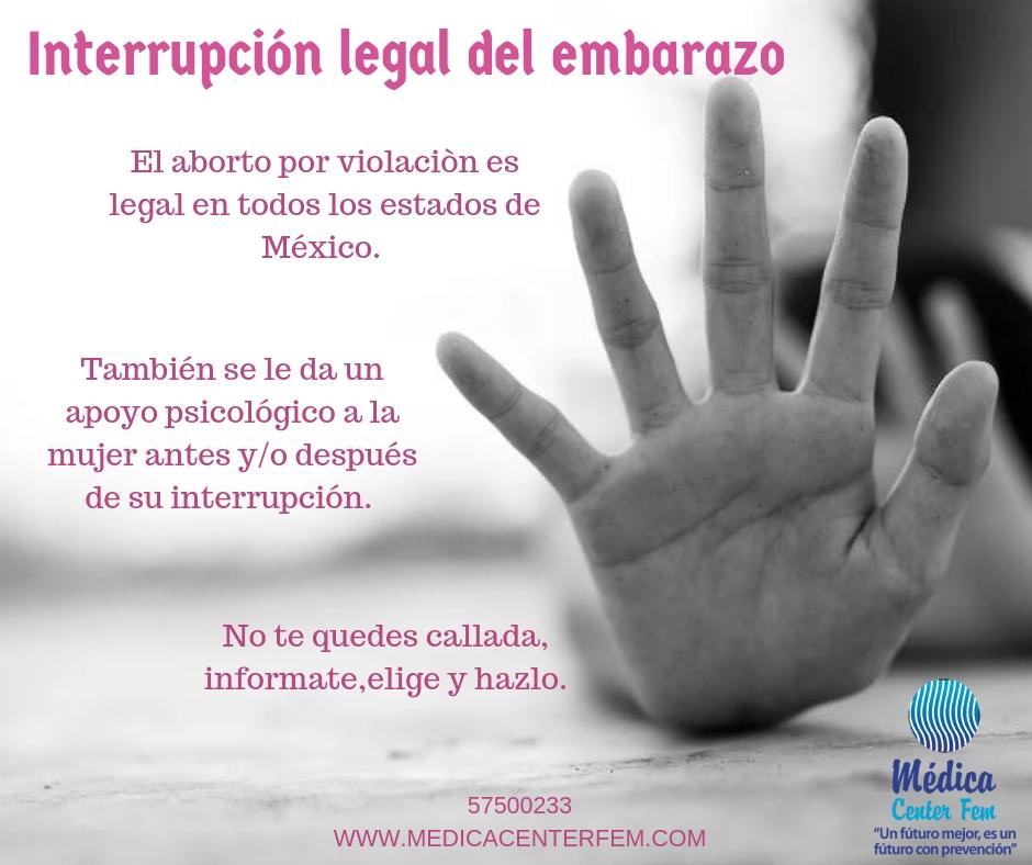 Interrupción del embarazo por violacion