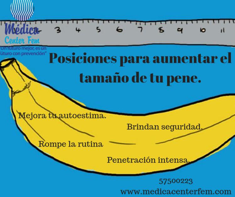 Posiciones para aumentar el tamaño de tu pene. (1)