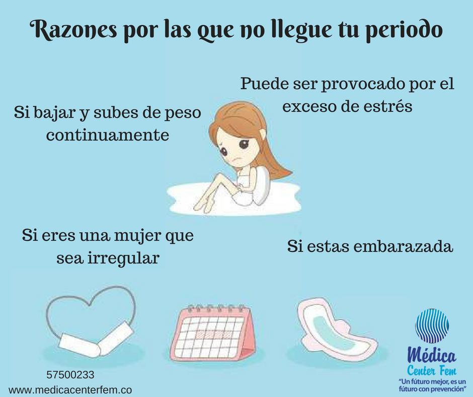 retraso del ciclo menstrual