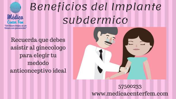 Beneficios del Implante subdermico