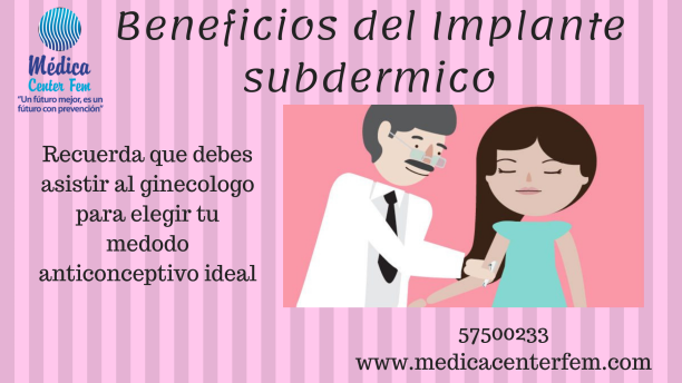 Beneficios del Implante subdermico
