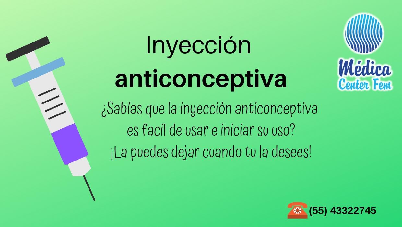 Inyección-anticonceptiva